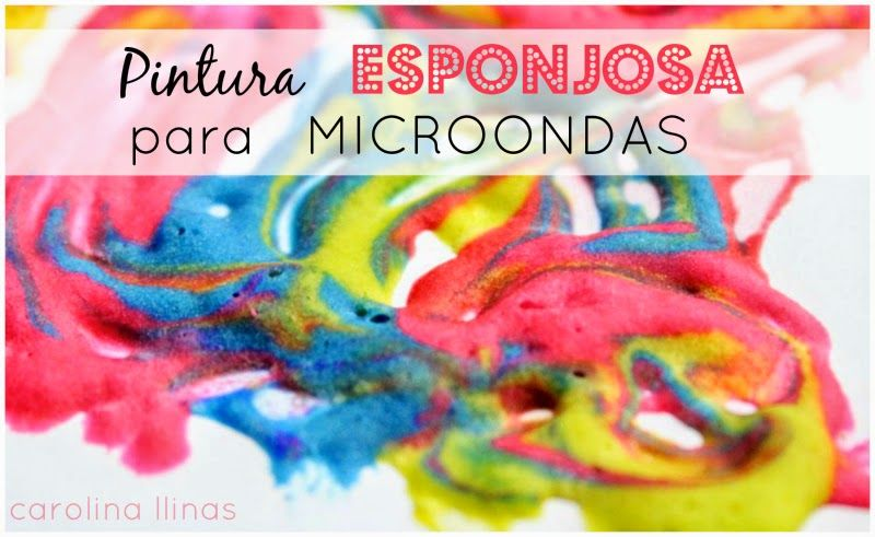 Pintura para microondas 1 arte para ni os pinterest - Pintura para microondas ...