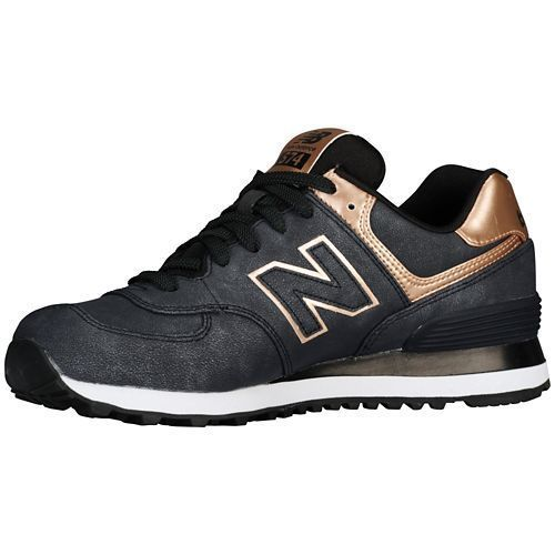 new balance 574 charcoal and bronze