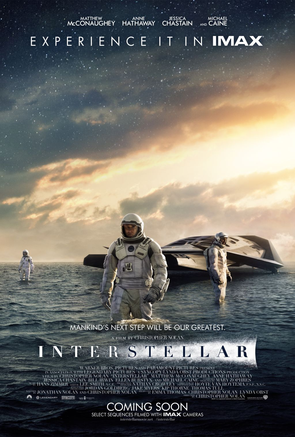 3680d2670a2 Interstellar IMDB: A team of explorers travel through a wormhole in an  attempt to ensure