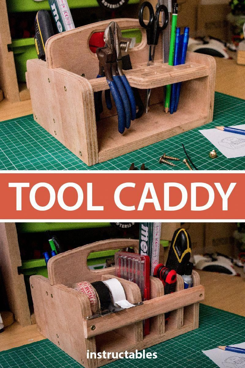 Woodworking Classes Near Me Wooden tool caddy
