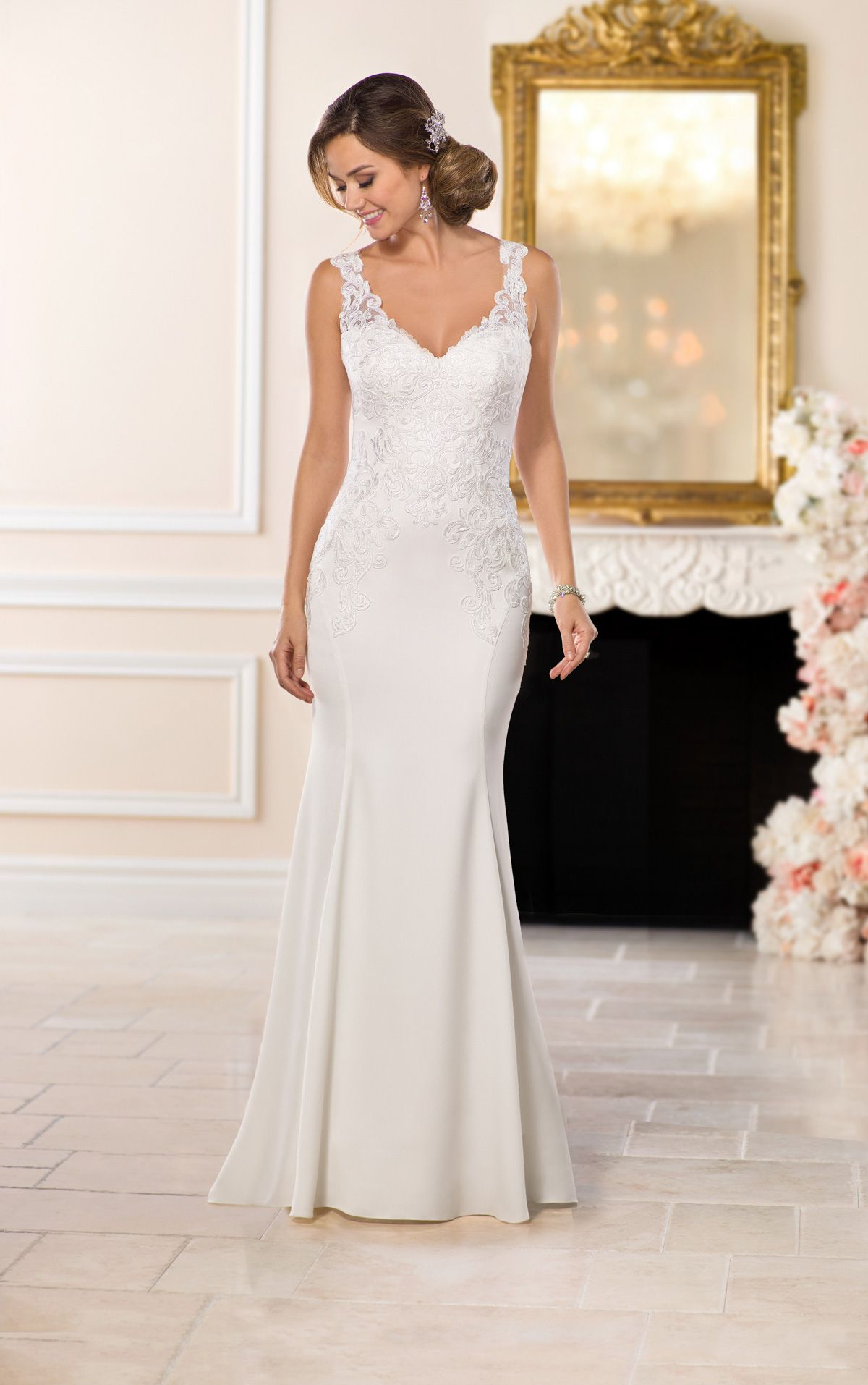 Wedding Dresses | Casual wedding, Stella york and Romantic lace