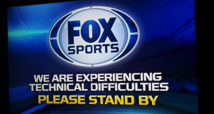 """We are experiencing technical difficulties please stand by. http://bit.ly/1S8wTEB"