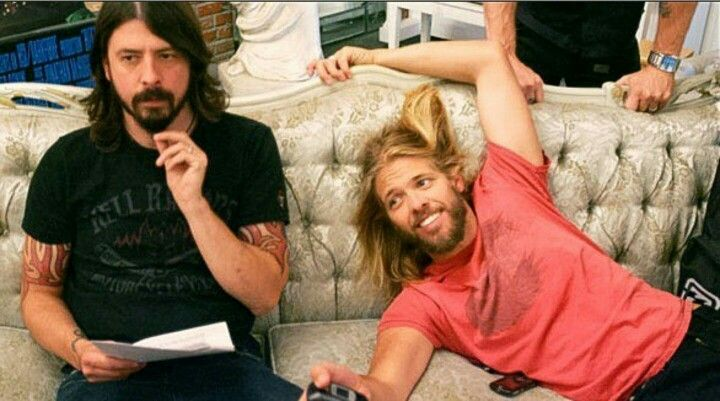 Dave & Taylor goofing off