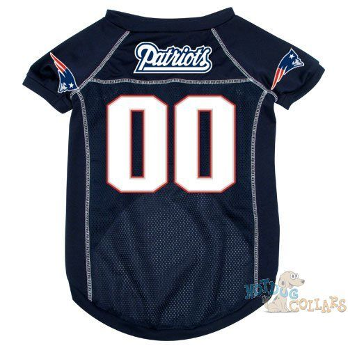 best website f42a3 54582 New England Patriots NFL Football Dog Jersey - CLEARANCE ...