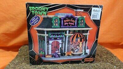 Lemax Spooky Town Halloween Village  Spooky Pets Boo - Tique #affilink #halloween #happyhalloween #halloween2017 #trickortreat #halloweenparty #halloweenmakeup #halloweenmakeupideas #halloweencostume #halloweengiveaway #halloweencontest #halloweenparty #halloweentheme #halloweennight #halloweenhaunt #halloweendecorations #halloweenfun #halloweencandy #halloween #halloweenmask #halloweenbaby #halloweentown #halloweenspirit #outdoordecorations #halloweenvillage