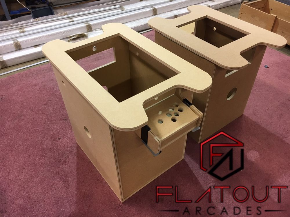 details about diy arcade cocktail table 18mm mdf with t molding slot rh pinterest com