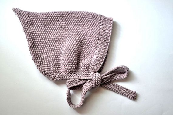 Photo of PDF Knitting Pattern to Knit Your Own Hat at Home – Little FINLEY Pixie Hat 3M up to 48M