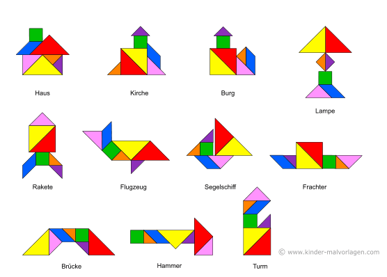 https www kinder malvorlagen com tangram
