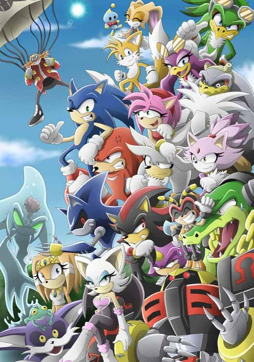 Awesome Collection Of Sonic The Hedgehog Fan Art Sonic The Hedgehog Sonic Sonic Heroes