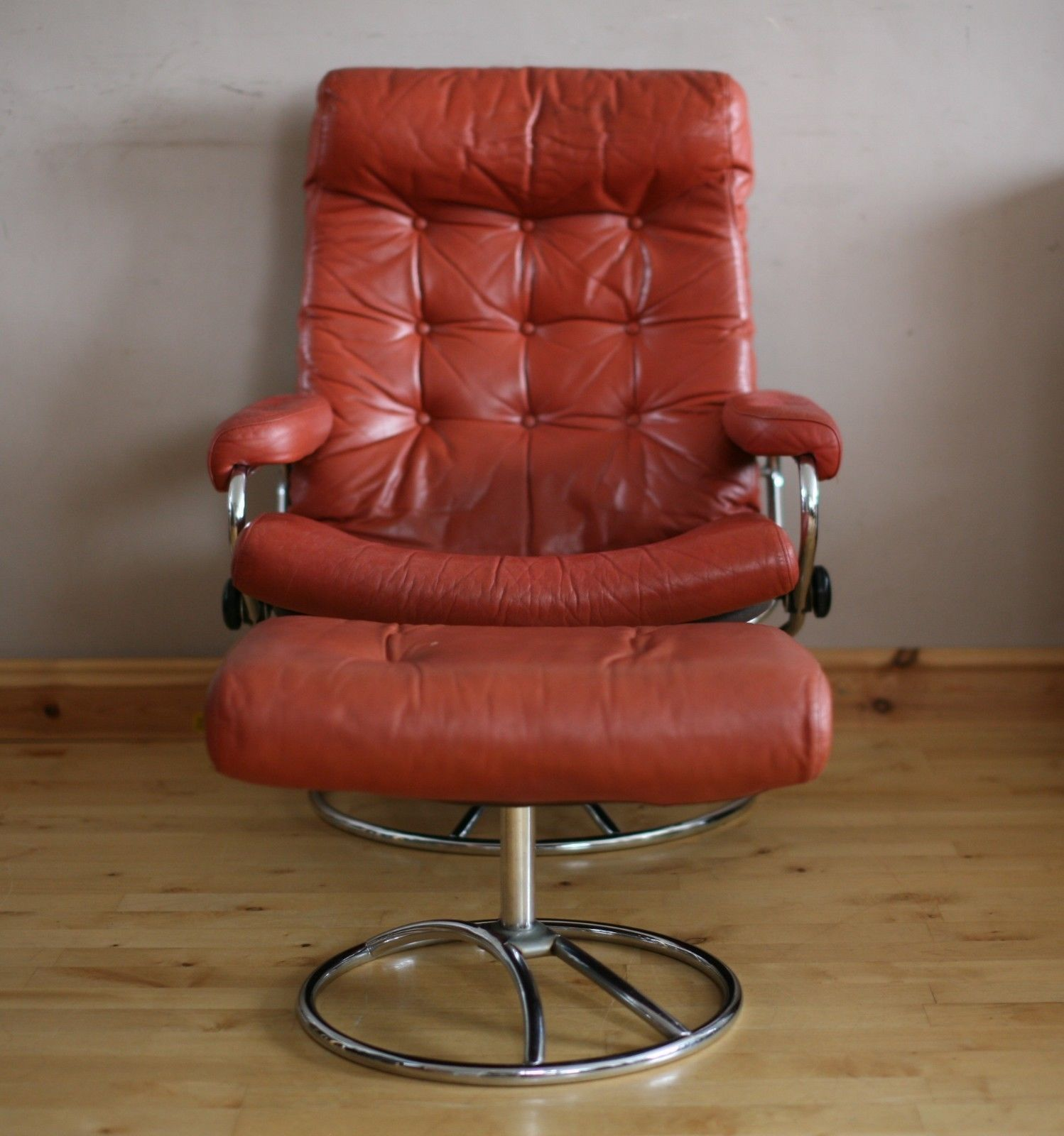 Stressless Sessel Ebay Details About Ekornes Stressless Leather Reclining Armchair