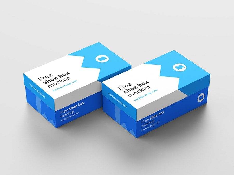 Download Free Shoe Box Mockup Freebie Psd Template Shoe Box Box Mockup Shoe Box Design