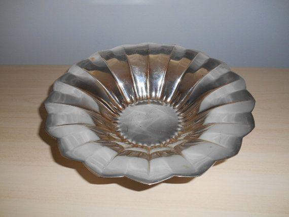 Art Deco WMF Silver Plated Center Fruit Bowl Germany | Pinterest | Wmf