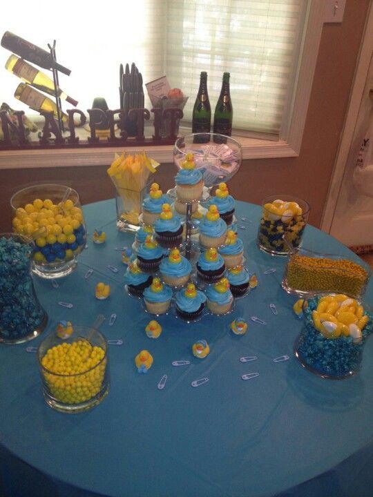 rubber ducky candy buffet baby shower ideas pinterest
