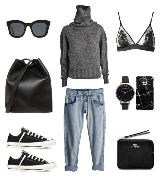 Off Duty Style by fashionlandscape on Polyvore featuring Mode, Acne Studios, Fleur of England, Converse, 3.1 Phillip Lim, Olivia Burton, Casetify, STELLA McCARTNEY and Rip Curl
