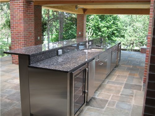 Fesselnde Outdoor Küche Aus Edelstahl Schränke Outdoor-Küche - edelstahl outdoor küche
