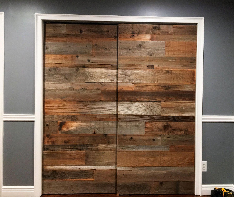Barn Door Reclaimed Wood 30 Inch 35
