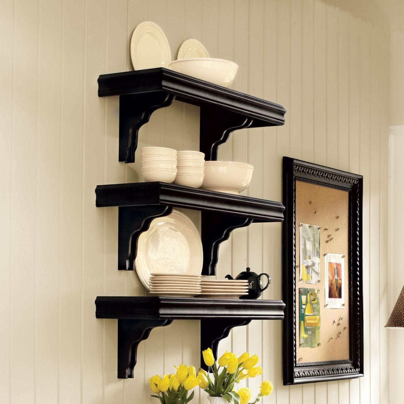 Cafe Shelving 12 Inch Deep Ballard Designs Easy Shelves Diy Wooden Shelves Shelves