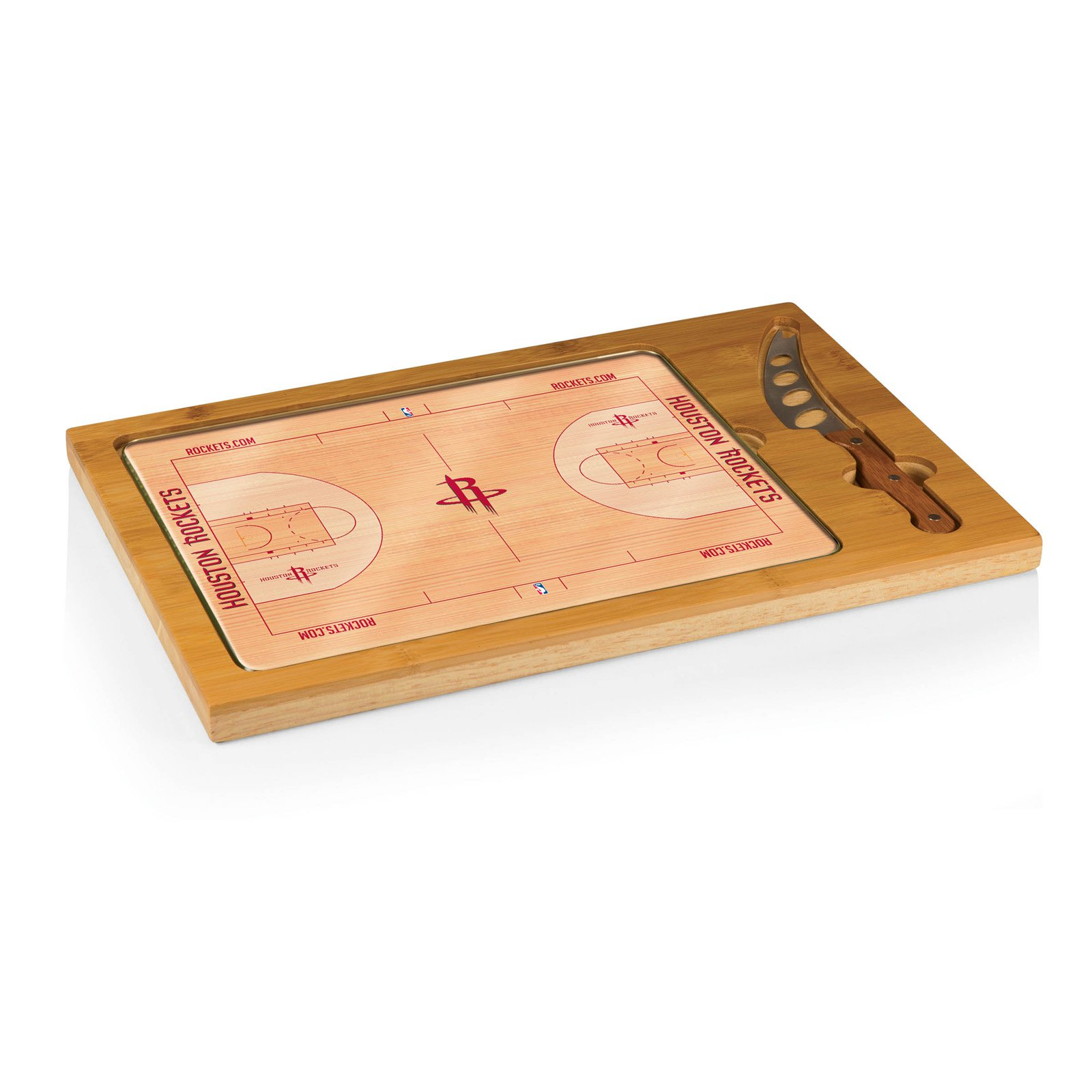 picnic time nba icon glass top serving tray and knife set picnic time digital prints houston in pinterest com
