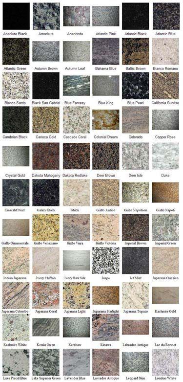 Types Of Granite Stone : Granito variedad decoupage pinterest