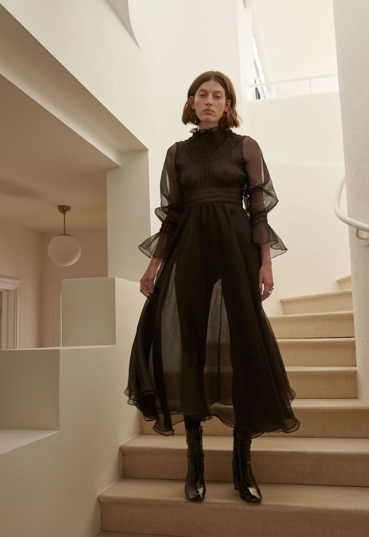 Beaufille runway pinterest dresses black and all black