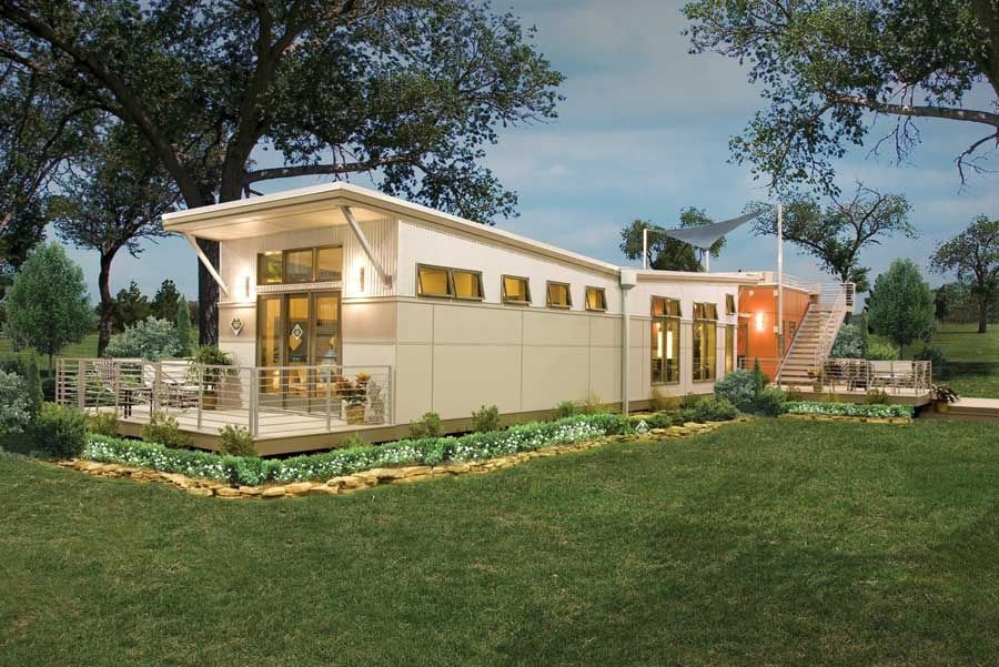 Manufactured Homes Cost Extraordinary Affordable Ecofriendly Green Modular Homes  Green Homes  Green . Design Inspiration