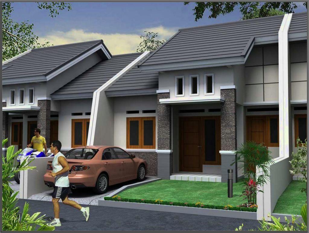 Desain Teras Rumah Cluster Desain Rumah Bungalow Rumah Minimalis Rumah