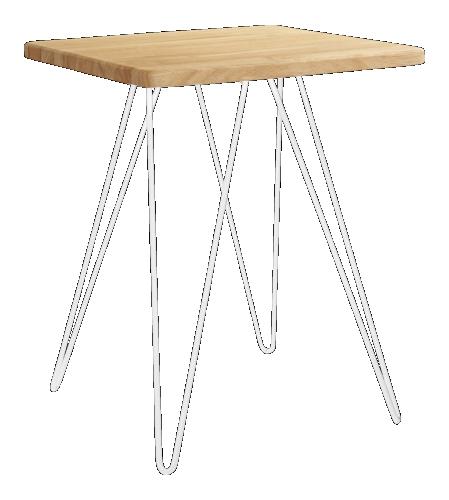 Cadix Table basse en chêne massif (www.habitat.fr) 45x45cm 69 ...