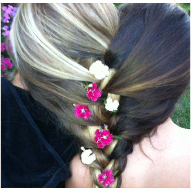 Two Girls With Their Hair Braided Together Beautiful Long Hair Hair Flow Cool Hairstyles