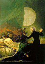 Sant Francesc de Borja i el moribund impenitent