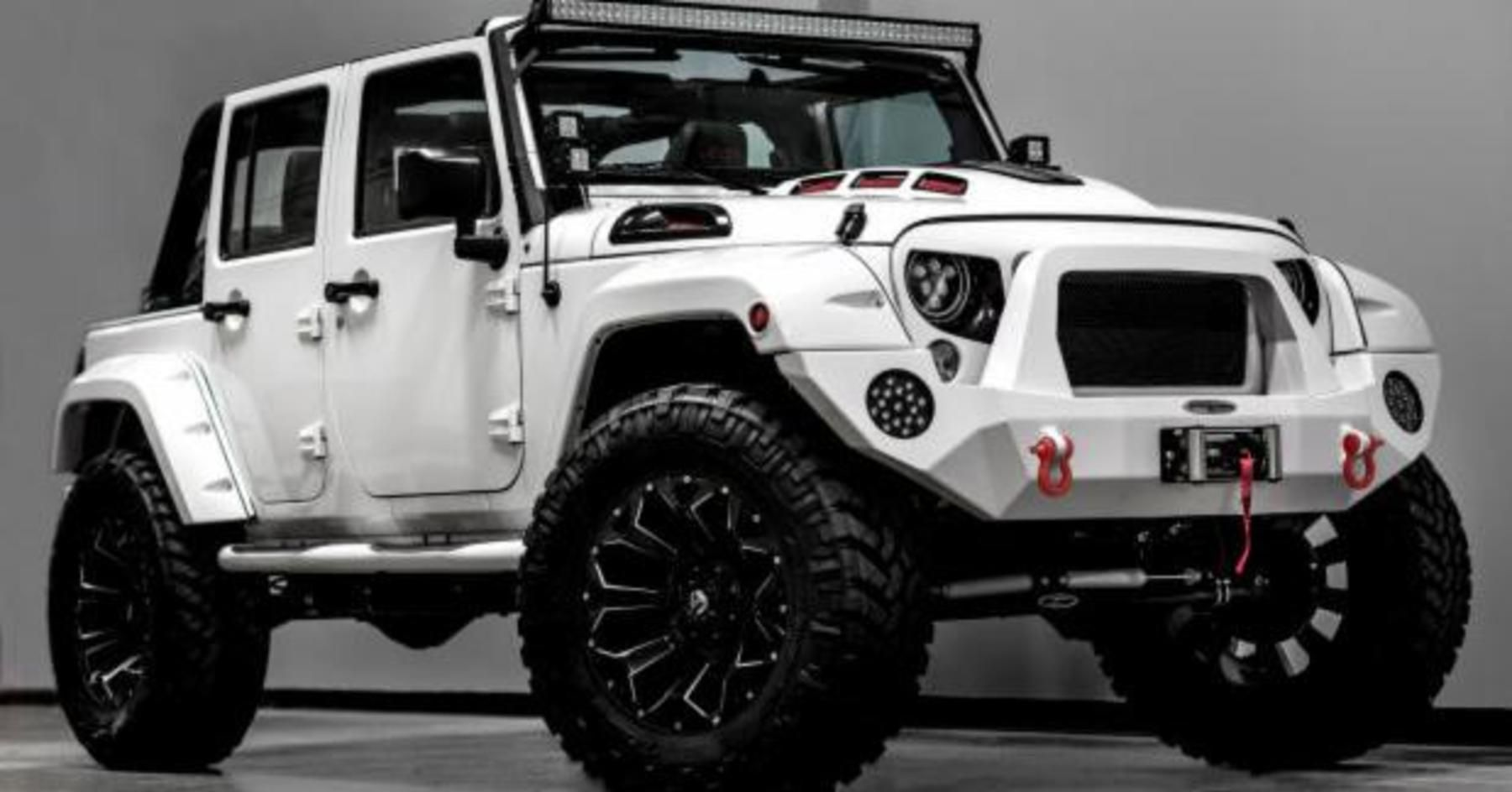 The Force Is Strong With This Custom Stormtrooper Jeep