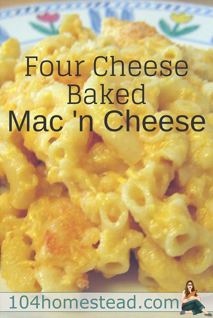 how to make baked macaroni pie
