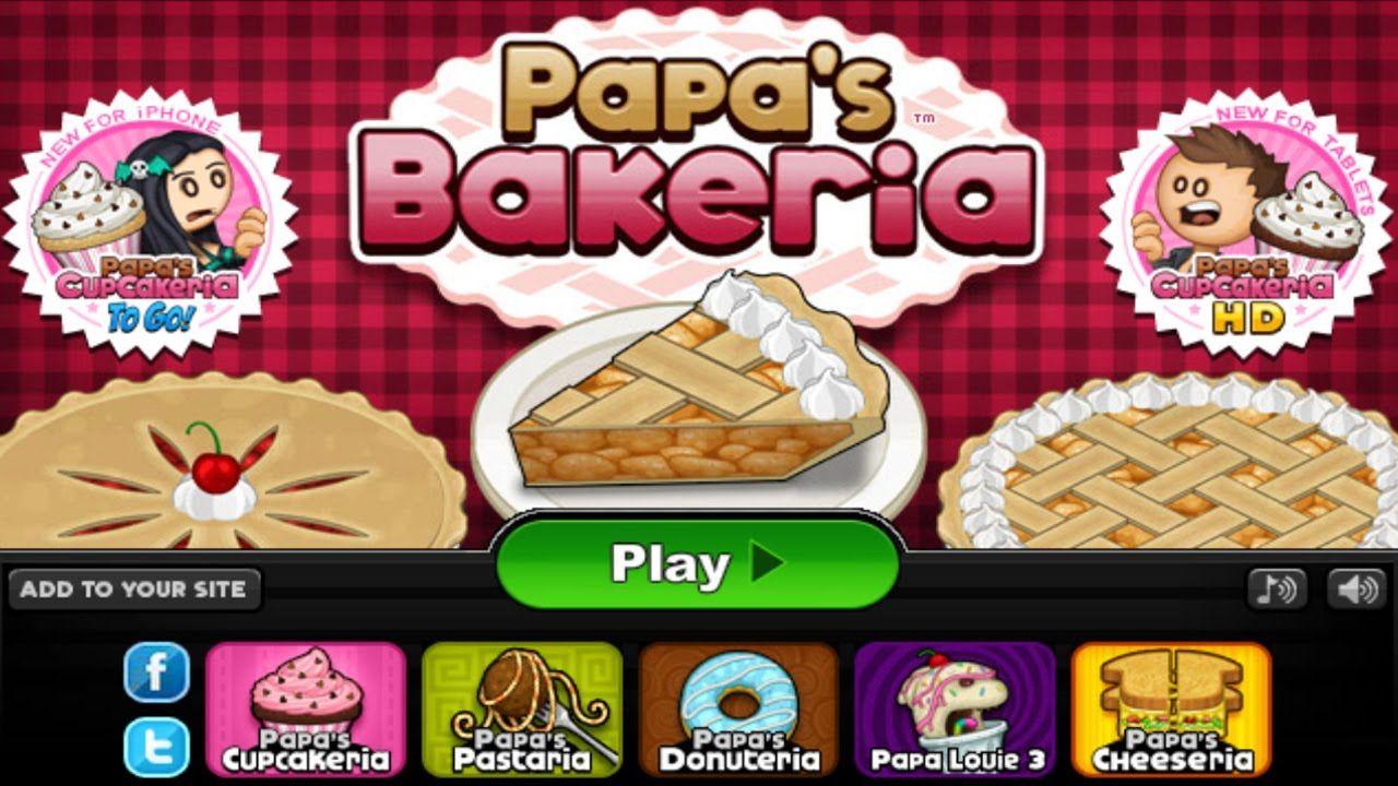 Papa's Bakeria Papa Louie 10th Anniversary By Flipline