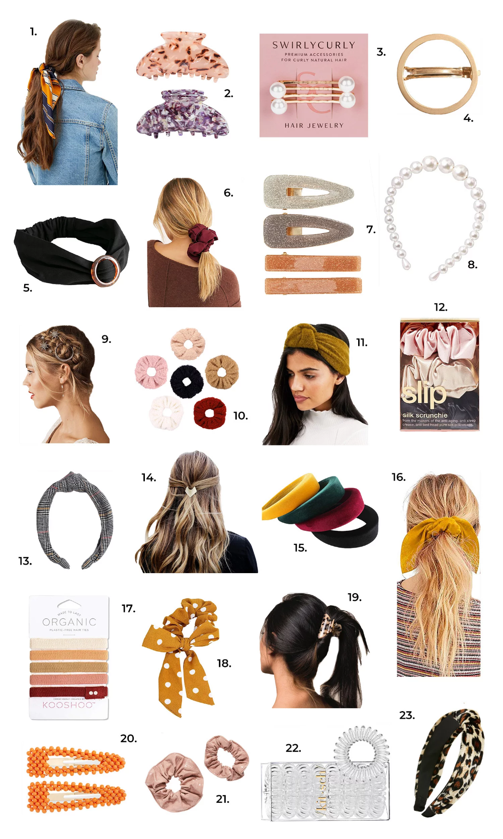 Cute Accessories For Any Hair Type A Beautiful Mess In 2020 Hair Type Hair Good Hair Day