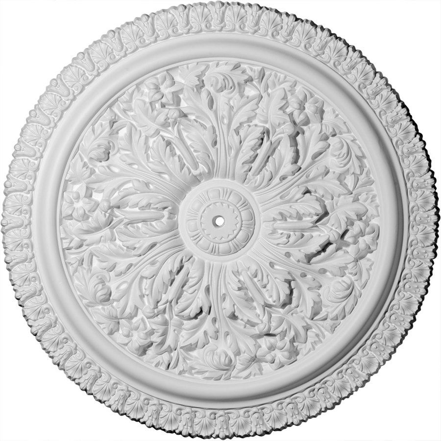 Ekena Millwork 28 75 In X 28 75 In Urethane Ceiling Medallion