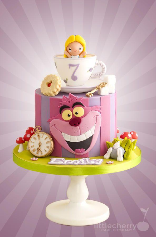 Alice In Wonderland Cake By Little Cherry Cakes Amp Cake