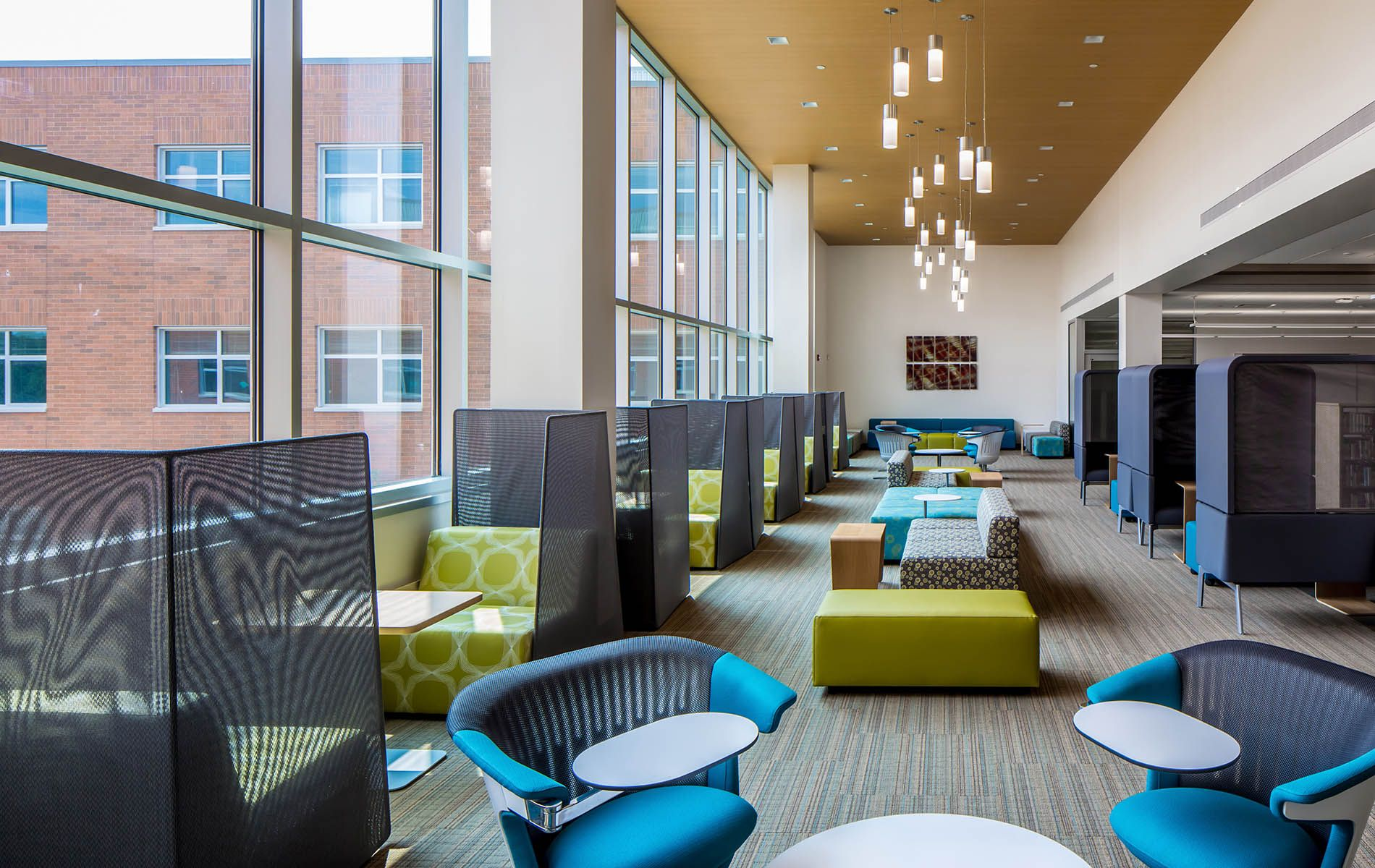 Alexandria Area High School Lounge design, Urban