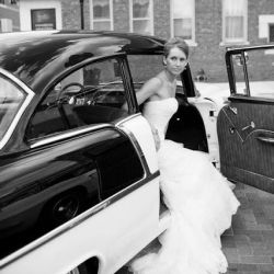 Classic Cars Are The Backdrop To This Elegant And Timeless Wedding