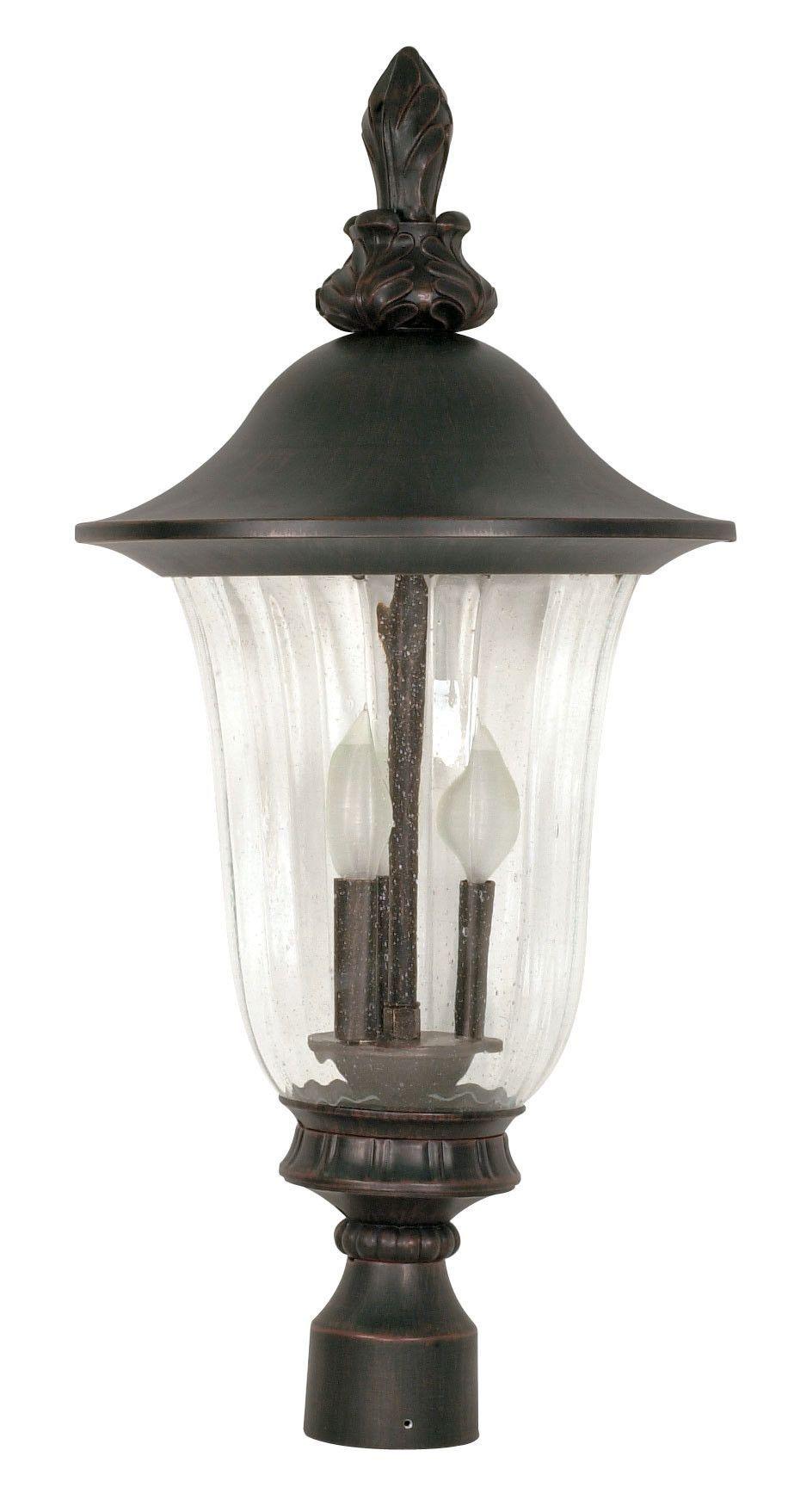 Nuvo Lighting Parisian Post Lantern Outdoor Post Lights Post Lights Lantern Post