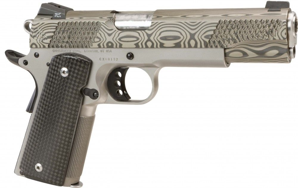 This is the Classic 1911 pistol with modern-day enhancements