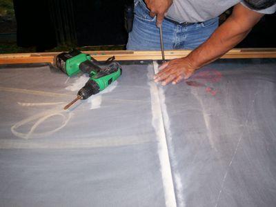 Slate Repair And Leveling Billiards Pinterest Slate Pool - Leveling pool table slate