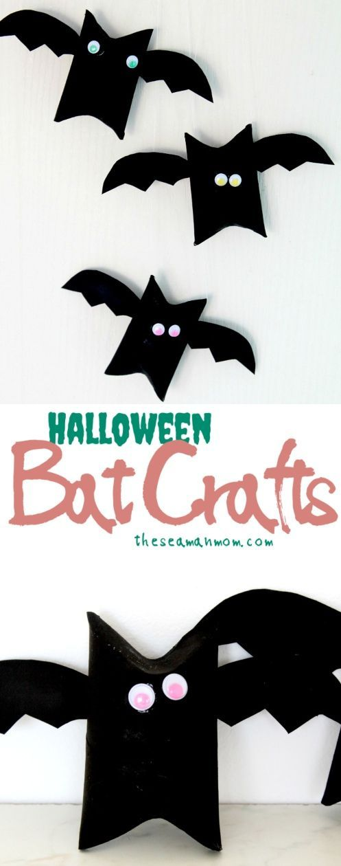 These Toilet Paper Roll Bats Are Not Only A Fun Art Project For Kids But Also And Frugal Take Minutes To Make