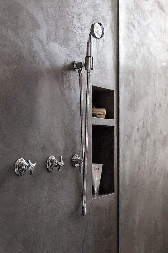 41 Concrete Bathroom Design Ideas To Inspire You | Pinterest ...