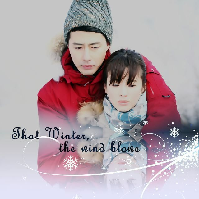 That Winter, The Wind Blows Quite possibly the most attractive couple I've ever seen in a drama. Jo In Sung might just be the perfect man. Sorry LMH.