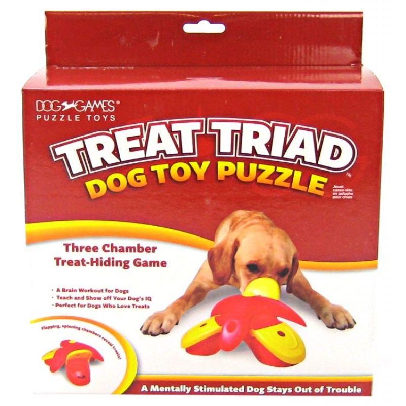 Dog Games Dog Games Treat Triad Dog Games Brain Games For Dogs