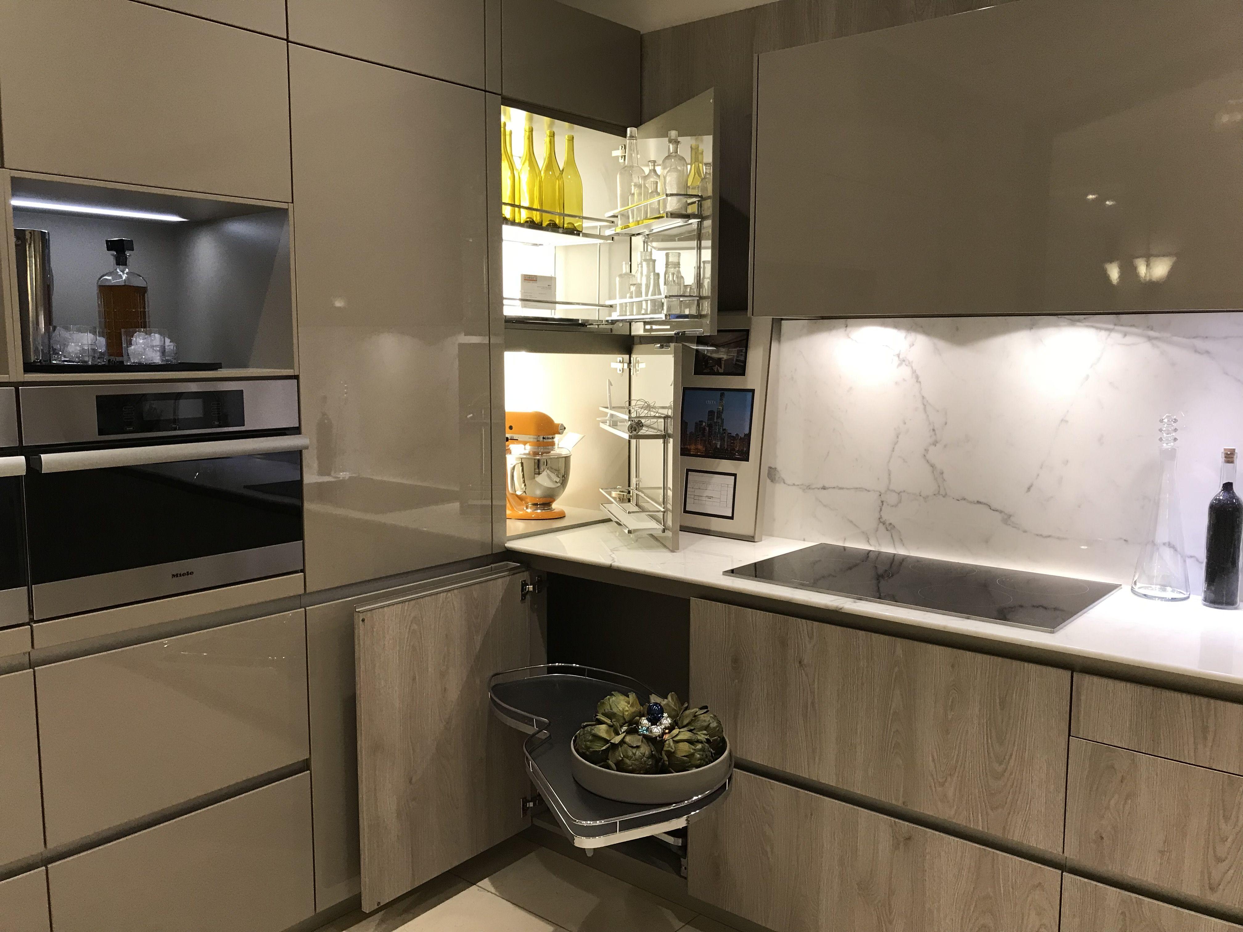 Kitchen Corner Transition Idea Cabinetry Luxury Kitchen Design