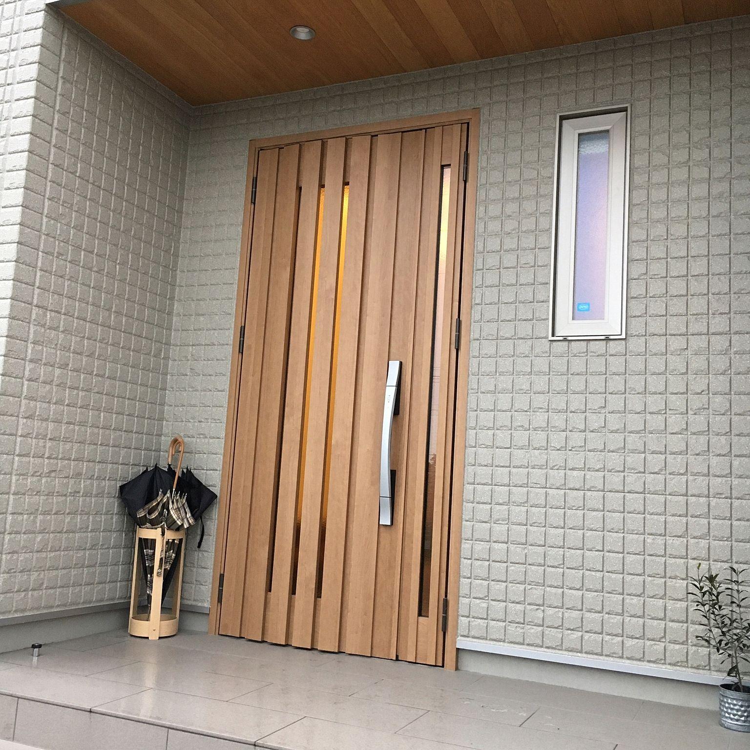 玄関 入り口 Saito Wood 傘立て Saito Wood クリエラスク リクシルの