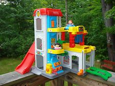Fisher Price Little People Fun Sounds Garage New Fisher Price Little People Fisher Price Toys
