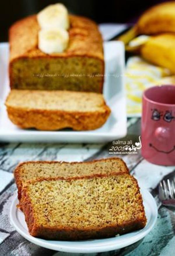 كيكة الموز من سلمى علي Banana Cake With Salma Ali Dessert Recipes Food Recipes