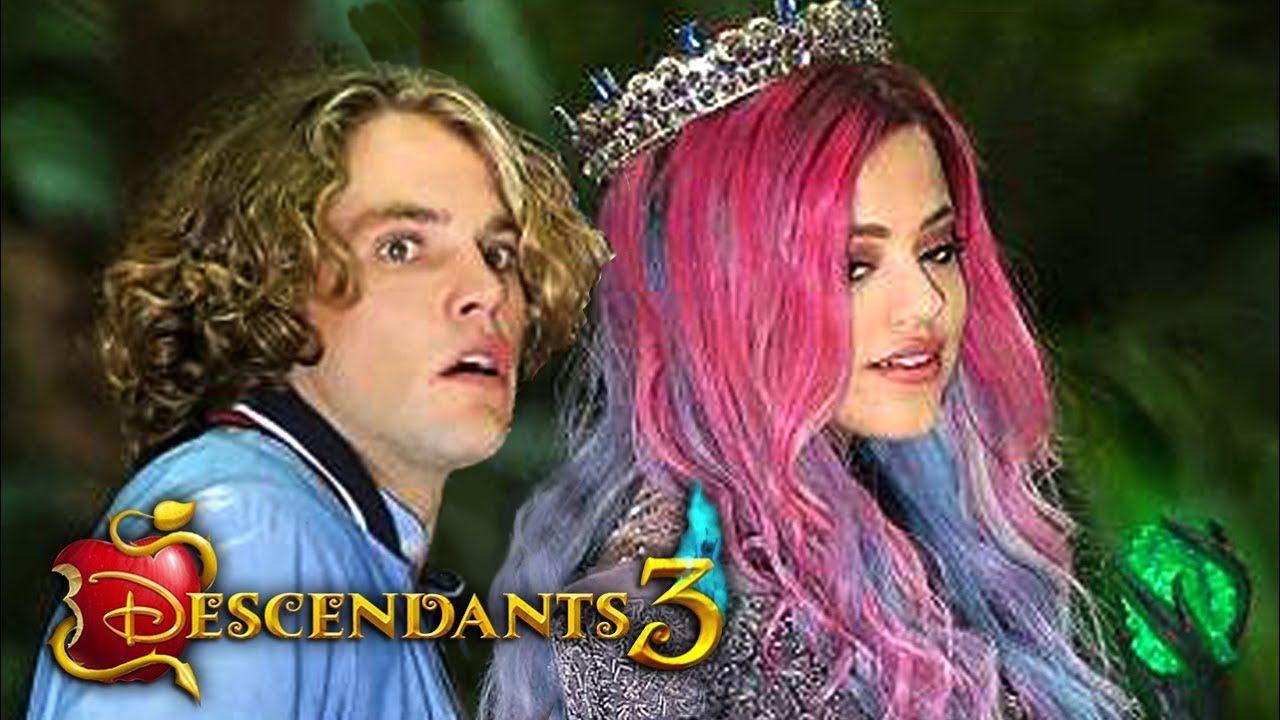 Descendants 3: AUDREY is EVIL! Audrey is The New Villain