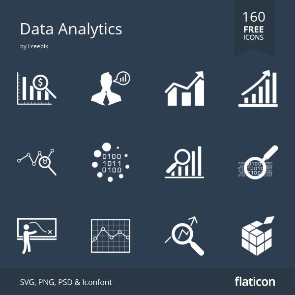 190 Free Vector Icons Of Data Analytics Designed By Freepik Data Analytics Design Data Analytics Free Icons
